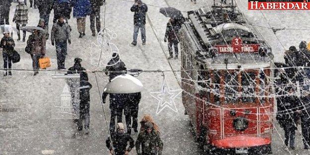 DİKKAT: Kar geliyor! Meteoroloji'den kritik uyarı!