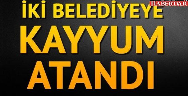 Diyarbakır Sur ve Silvan belediyelerine kayyum atandı