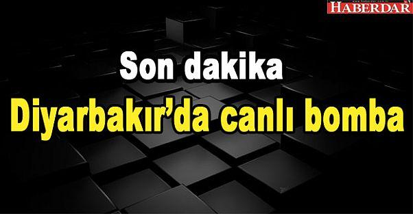 Diyarbakırda canlı bomba yakalandı
