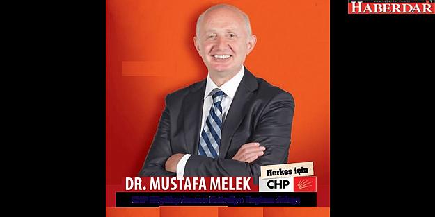DR. MUSTAFA MELEK CHP'DEN BÜYÜKÇEKMECE ADAY ADAYI