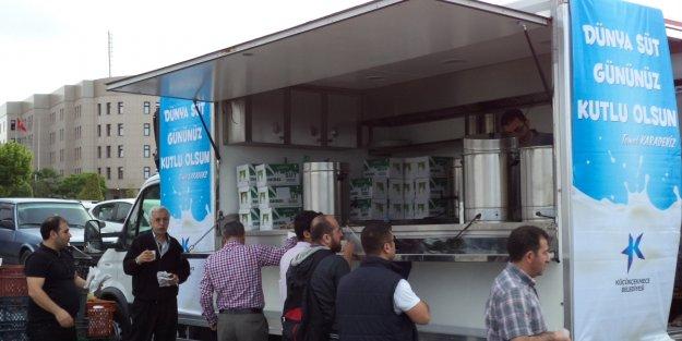 Dünya Süt Günü Küçükçekmece'de kutlandı