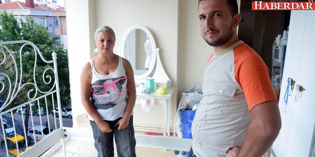 Duvarı olmayan daire aileyi mağdur etti