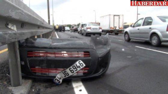 E-5'i Kilitleyen Kaza! Satacağı Aracını Hurdaya Gönderdi