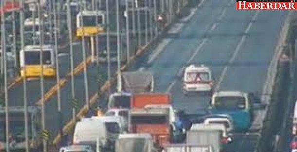 E-5 Otoyolu'nda Kaza! 1 Kişi Öldü