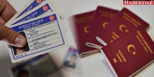 Ehliyet, yeni kimlik ve pasaport alacaklar dikkat!