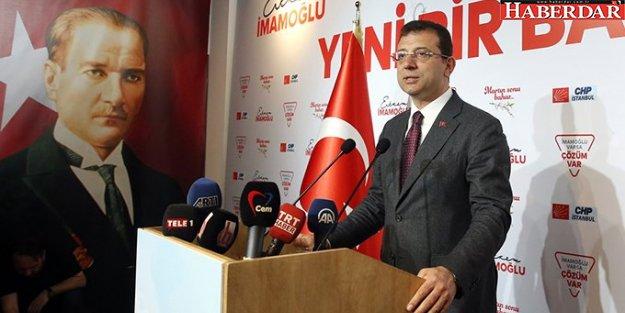 Ekrem İmamoğlu, Büyükçekmece İddialarına İlişkin 4 İsim Sayıp AK Parti'yi Suçladı
