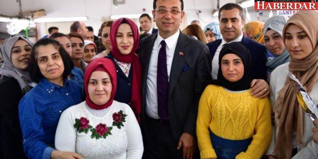 Ekrem İmamoğlu'ndan kadınlara yüzde 40 sözü