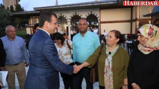 Ekrem İmamoğlu, UNESCO Filistin Heyeti ile bir araya geldi