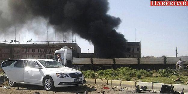 Elazığ Emniyet'e bombalı araçla saldırı!