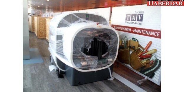 Elektronik Yasağı İçin Atatürk Havalimanı'nda Tomografili Kontrol
