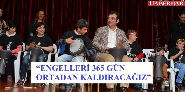 """ENGELLİLER GÜNÜ'NDE 'FARKINDALIK"""" YARATTI"""