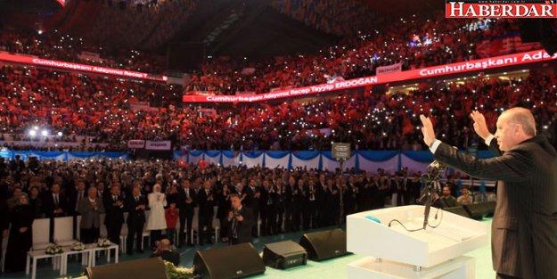 Erdoğan 'ahdim olsun ki' deyip seçim manifestosunu açıkladı!