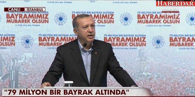 """Erdoğan: Bazıları 'Seçilmişler görevden nasıl alınır?"""" diyor, bal gibi alınır"""