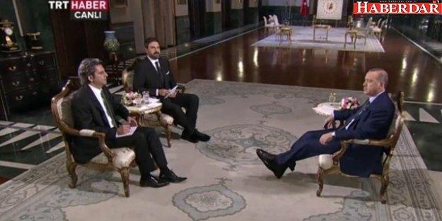 Erdoğan: 'Bunlar takiyeyi çok çok iyi yapıyorlar'