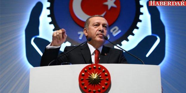Erdoğan'dan 'asgari ücret' açıklaması