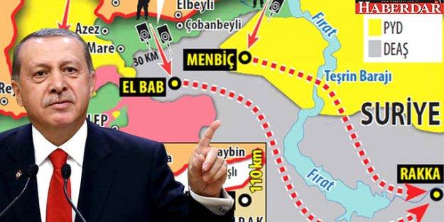 Erdoğan, Obama'ya 4 Noktayı İşaretledi! Operasyonlar Kapıda