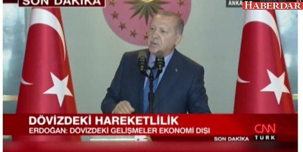 Erdoğan'dan 'Sermayeye el konulacak' iddialarına sert tepki