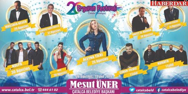 Erguvan Festivali gün sayıyor