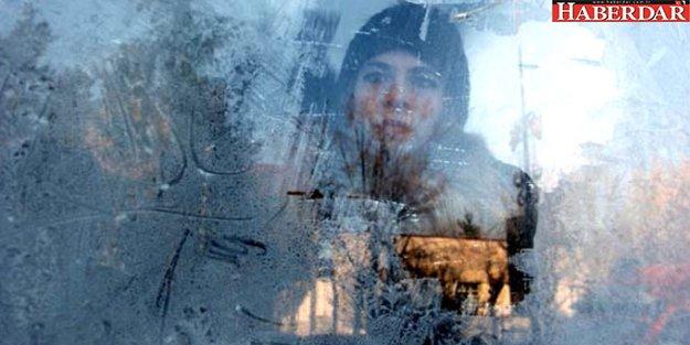Erzurum -25 Dereceyi Gördü, Camlar Buz Tuttu
