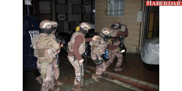 Esenyurt'ta 30 Adrese Uyuşturucu Operasyonu