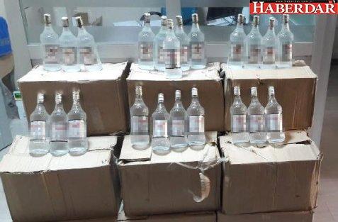 Esenyurt'ta Kaçak İçki Operasyonu: 2 Gözaltı
