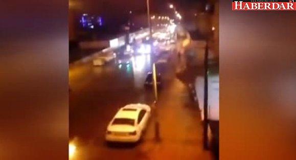 Esenyurt'tan 'Zeytin Dalı'na Destek...yüzlerce Vatandaş Sokağa Çıktı