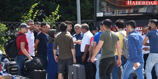 Esenyurt'tan anavatan Suriye'ye dönüşler hızlandı