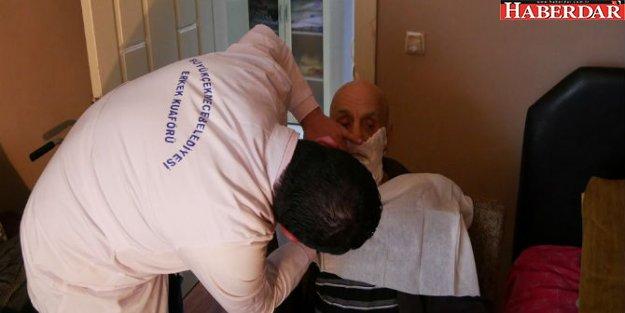 Evde tıraş hizmeti büyük takdir topluyor