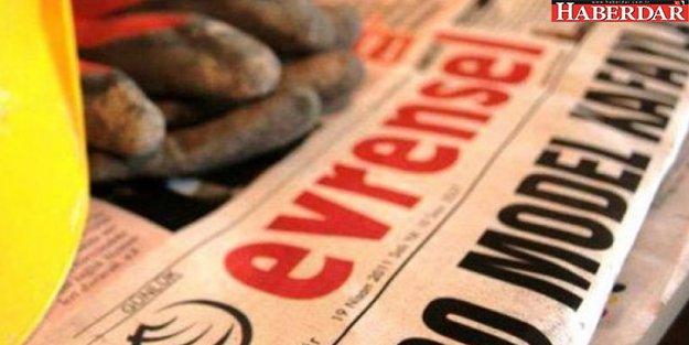 Evrensel gazetesi, sayfa sayısını azalttı