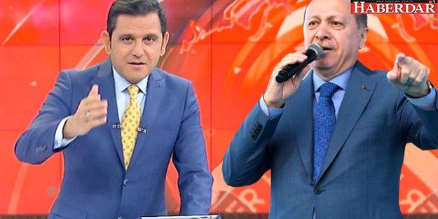 Fatih Portakal'dan Kendisine 'Edepsiz' Diyen Cumhurbaşkanı Erdoğan'a Yanıt Geldi