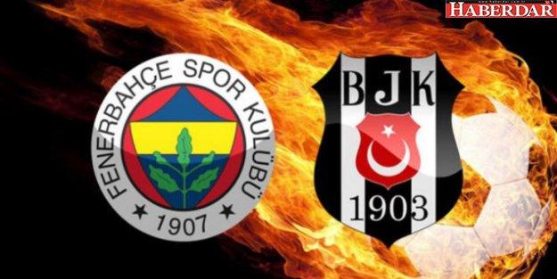 Fenerbahçe Beşiktaş derbi maçının tarihi belli oldu