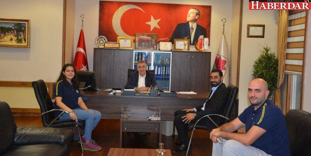Fenerbahçe Çatalca Spor Okulları'ndan Başkan Kara'ya Ziyaret