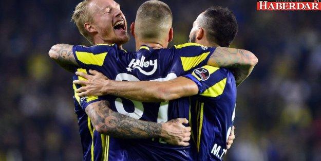 Fenerbahçe evinde gol şov yaptı