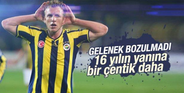 Fenerbahçe, Galatasaray'ı 1-0 Yendi