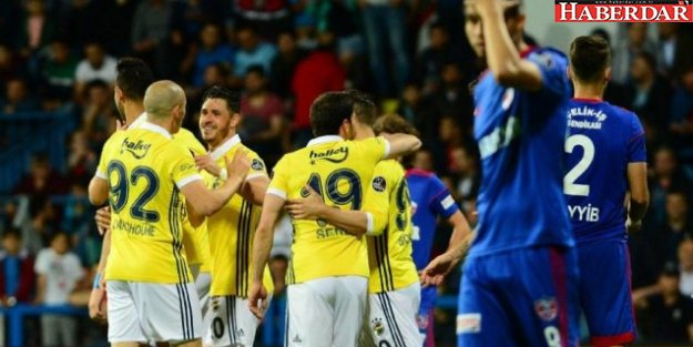 Fenerbahçe gol oldu, Karabük'e yağdı!