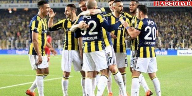 Fenerbahçe Kadıköy'de şaha kalktı