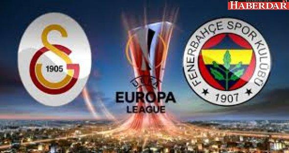 Fenerbahçe ve Galatasaray'ın Avrupa Ligi'nde Muhtemel Rakipleri Belli Oldu