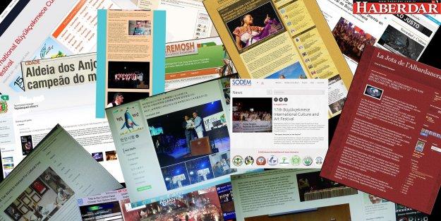 Festival Büyükçekmece dünya medyasında