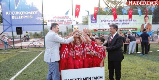 Fetih Kupası'nın Şampiyonu Halkalı Taştepespor