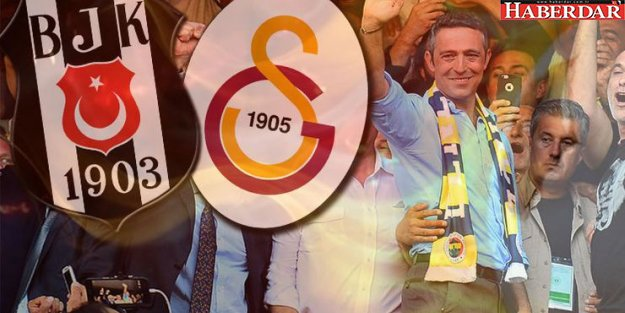 Galatasaray ve Beşiktaş'tan Ali Koç'a tebrik