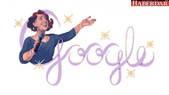 Google, Müzeyyen Senar için doodle yaptı