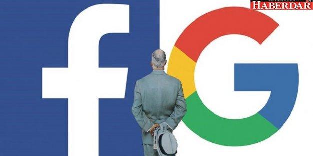 Google ve Facebook'a sıkı denetim