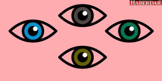 Göz renginiz karakterinizi ele veriyor!