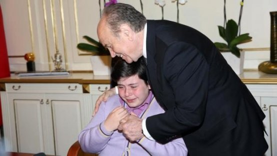 Gözyaşları içinde engelsiz İstanbul istedi