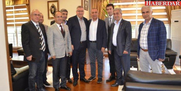 Milletvekili Gürsel Tekin Başkan Cem Kara'yı ziyaret etti