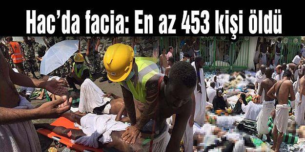 Hac'da facia: En az 453 kişi öldü