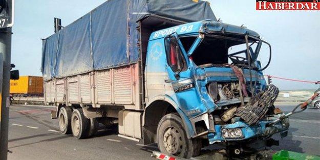 Hadımköy'de zincirleme kaza