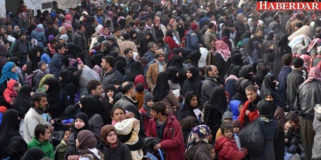 Halep'i Terk Eden Mülteciler İçin 80 Bin Kişilik Çadır Kent Kurulacak!