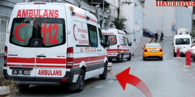 Hastane önünde sağlık çalışanını bıçakladı!