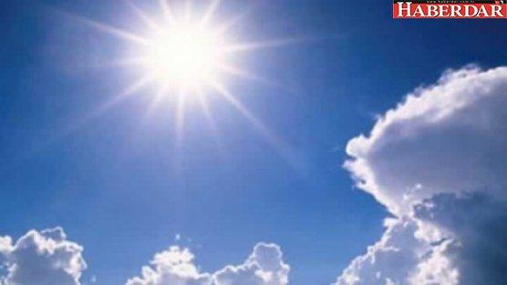 Hava sıcaklığı artacak!